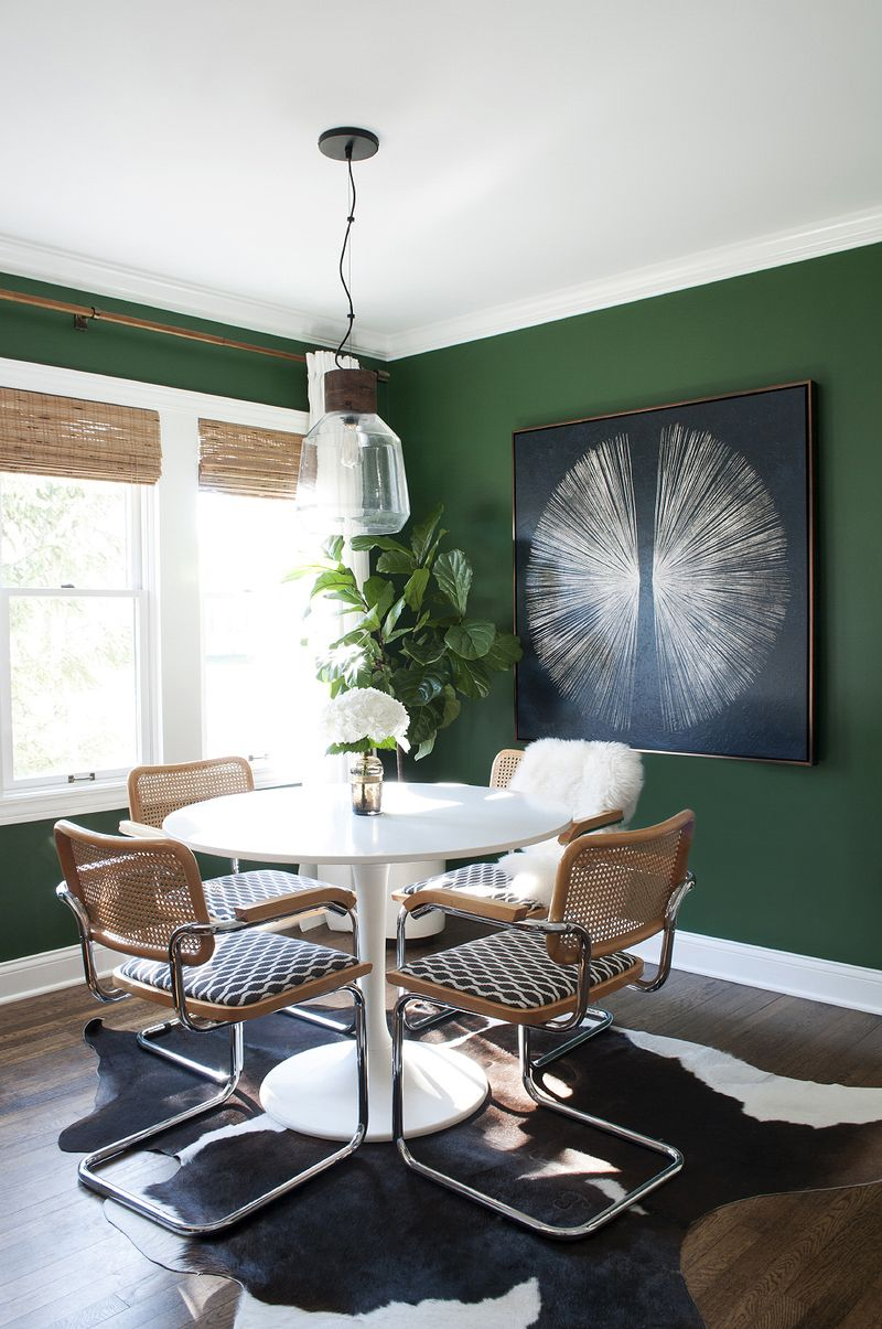 Grab the Paintbrush, Dark Green is Hot!