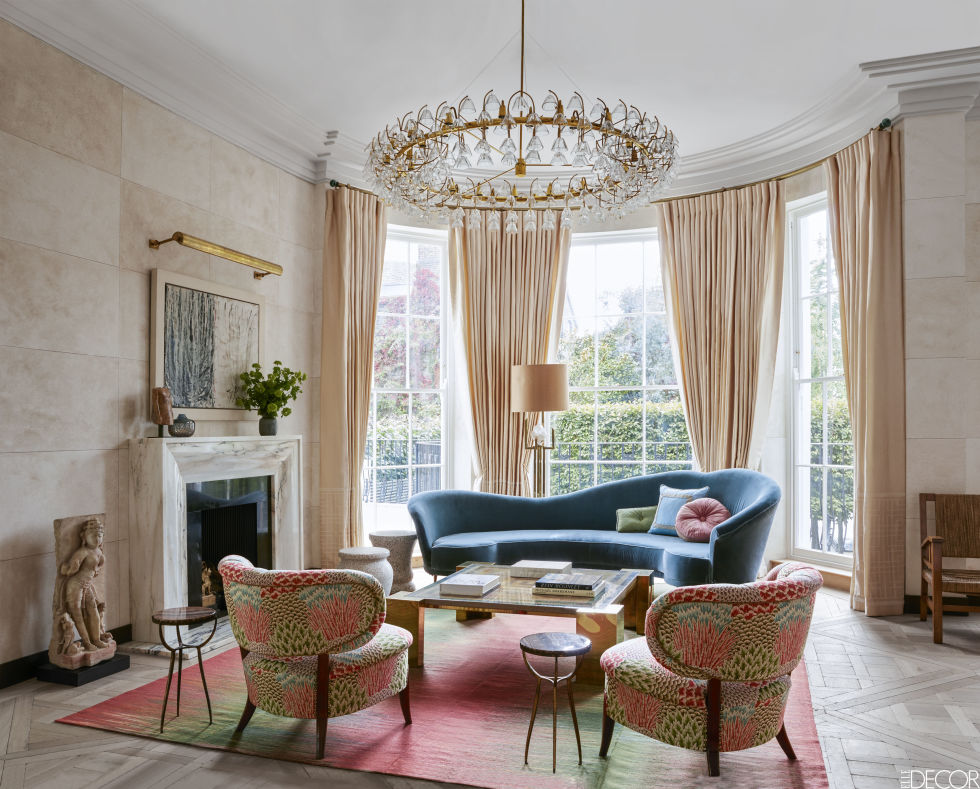 Rule Britannia Inside A London Townhouse Everything